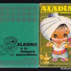 Libros de segunda mano: ALADINO O LA LAMPARA MARAVILLOSA Y OTROS CUENTOS - EDITORIAL BRUGUERA 1973 / 5ª EDICION. Lote 294944903