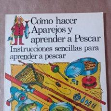Libros de segunda mano: LIBRO PLESA CÓMO HACER APAREJOS Y APRENDER A PESCAR. Lote 294952268