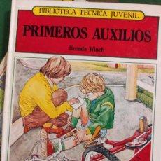 Libros de segunda mano: BIBLIOTECA TÉCNICA JUVENIL - PRIMEROS AUXILIOS - BRENDA WIMCH. Lote 294956293