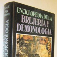 Livros em segunda mão: ENCICLOPEDIA DE LA BRUJERIA Y DEMONOLOGIA - ROSSELL HOPE ROBBINS - ILUSTRADO. Lote 295292108