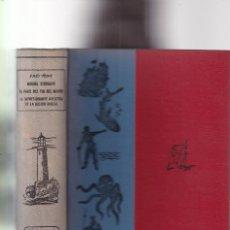 Libros de segunda mano: JULIO VERNE - CLASICOS DE LA JUVENTUD - EDITORIAL ARIMANY 1957. Lote 295301748