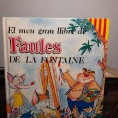 Libros de segunda mano: EL MEU GRAN LLIBRE DE FAULES DE LA FONTAINE ( SUSAETA, EN CATALAN ). Lote 295372353