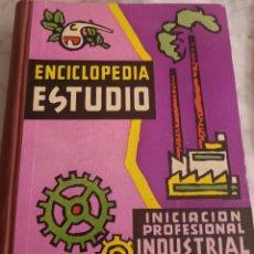 Libros de segunda mano: ENCICLOPEDIA ESTUDIO INICIACIÓN PROFESIONAL. Lote 295381088