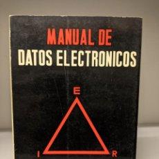 Libros de segunda mano: LIBRO: MANUAL DE DATOS ELECTRÓNICOS DE MARTIN CLIFFORD. Lote 295382998