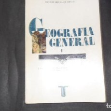 Libros de segunda mano: GEOGRAFÍA GENERAL 1, ED. VICENTE BIELZA DE ORY. Lote 295399363