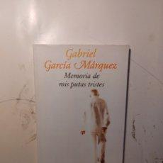 Libros de segunda mano: GABRIEL GARCÍA MÁRQUEZ, MEMORIAS DE MIS.PUTAS TRISTES. MONDADORI. Lote 295402218