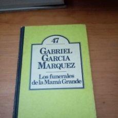 Libros de segunda mano: LOS FUNERALES DE LA MAMÁ GRANDE. CLUB BRUGUERA. 1ª EDICION CLUB BRUGUERA. 1980. Lote 295402453