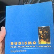 Libros de segunda mano: BUDISMO PARA PRINCIPIANTES Y MAESTROS, DE SANGHARAKSHITA. Lote 295423323