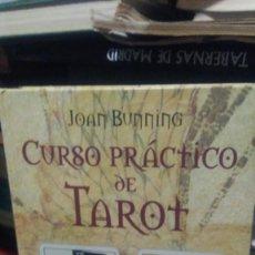 Libros de segunda mano: CURSO PRÁCTICO DE TAROT, JOAN BUNNING, ED. CÍRCULO DE LECTORES. Lote 295509803