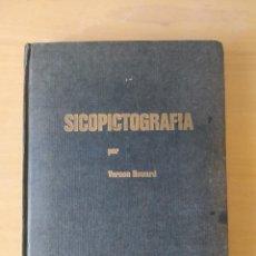 Libros de segunda mano: SICO-PICTOGRAFIA. VERNON HORWARD - 1972. Lote 295535618