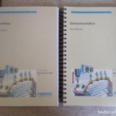 Libros de segunda mano: NEUMÁTICA Y ELECTRONEUMÁTICA. FESTO.. Lote 295631783