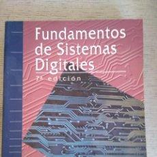 Libros de segunda mano: FUNDAMENTOS DE SISTEMAS DIGITALES. THOMAS FLOYD. 7ª EDICIÓN.. Lote 295636073