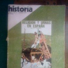 Libros de segunda mano: LIBRO REVISTA HISTORIA RELIGIÓN Y URNAS EN ESPAÑA POR GUY HERMET 1976 N 4. Lote 295785568