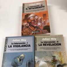Libros de segunda mano: LA INTERVENCIÓN 3DE3 JULIAN MAY ULTRAMAR EDITORES 1A EDICIÓN. Lote 295848888