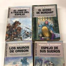 Libros de segunda mano: LA NECESIDAD DE MORDANT 4 DE 4 STEPHEN R. DONALDSON PRIMERA EDICIÓN 88. Lote 295850598