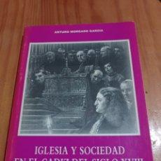 Libros de segunda mano: IS-131 IGLESIA Y SOCIEDAD EN EL CÁDIZ DEL SIGLO XVIII TAPA RÚSTICA 288 PAG. MEDIDAS 21X15. Lote 295879893