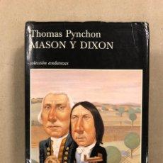 Libros de segunda mano: MASON Y DIXON. THOMAS PYNCHON. TUSQUETS EDITORES 2000 (1ª EDICIÓN).. Lote 295984818