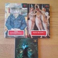 Libros de segunda mano: LOTE DE 3 LIBROS DE ARTE DE LA COLECCIÓN, CONOCER EL ARTE, HISTORIA 16. TAPA BLANDA. RAROS.. Lote 295985048