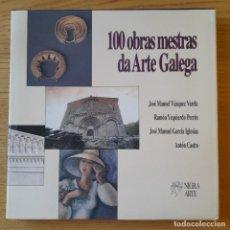 Libros de segunda mano: GALICIA. 100 OBRAS MESTRAS DA ARTE GALEGA, VARIOS AUTORES, ED. NIGRA ARTE, 1996 RARO. Lote 295994653