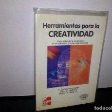 Libros de segunda mano: 50- HERRAMIENTA PARA LA CREATIVIDAD - H. JAMES HARRINGTON. Lote 296056953