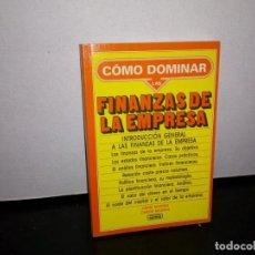 Libros de segunda mano: 50- CÓMO DOMINAR LAS FINANZAS DE LA EMPRESA - JORGE BALDWIN. Lote 296066953