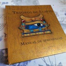 Libros de segunda mano: LIBRO TESOROS DE EGIPTO MANUAL DE APRENDIZAJE.. Lote 296635388