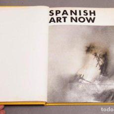 Libros de segunda mano: SPANISH ART NOW - 1966 - TAPIES, PALAZUELO, EQUIPO CRÓNICA, ANTONIO LOPEZ, CESAR MANRIQUE, MILLARES. Lote 296715193