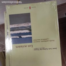 Libros de segunda mano: LOS OCEANOS, MEDIO AMBIENTE Y POLITICAS MARINAS (JOSE LUIS SUAREZ DE VIVERO). Lote 296735088
