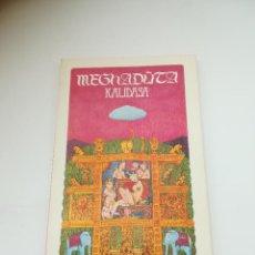 Libros de segunda mano: MAGHADÛTA. KALIDASA. FRANCISCO VILLAR LIEBANA. 1978. EDITORA NACIONAL. 90 PÁGINAS. RÚSTICA. Lote 296764603