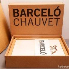 Libros de segunda mano: MIQUEL BARCELÓ - CAHIER DE FELINS - CHAUVET - EDICION LIMITADA Y FIRMADA. Lote 296836048