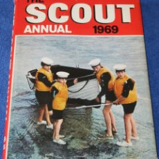 Libros de segunda mano: THE SCOUT ANNUAL - REX HAZLEWOOD - THE SCOUT ASSOCIATION (1969). Lote 296890648