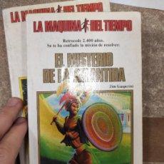 Libros de segunda mano: LA MÁQUINA DEL TIEMPO N°. 8 EL MISTERIO DE LA ATLÁNTIDA. GASPERINI. Lote 296898738