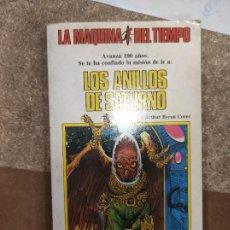 Libros de segunda mano: LA MÁQUINA DEL TIEMPO N°. 6 LOS ANILLOS DE SATURNO. Lote 296898813