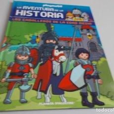 Libros de segunda mano: PLAYMOBIL LA AVENTURA DE LA HISTORIA Nº 18 LOS CABALLEROS DE LA EDAD MEDIA. Lote 296906578