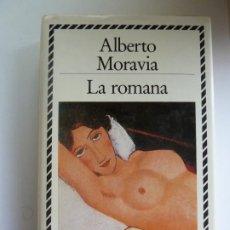 Libros de segunda mano: LA ROMANA. ALBERTO MORAVIA. CIRCULO DE LECTORES. Lote 297031428