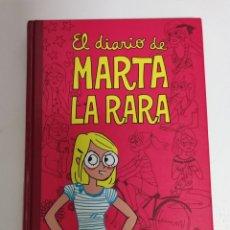 Libros de segunda mano: EL DIARIO DE MARTA LA RARA ANA BERMEJO MONTENA. Lote 297088878