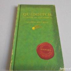 Libros de segunda mano: QUIDDITCH A TRAVÉS DE LOS TIEMPOS. Lote 297110288