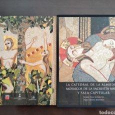 Libros de segunda mano: LA CATEDRAL DE LA ALMUDENA: MOSAICOS DE LA SACRISTIA MAYOR Y SALA CAPITULAR. Lote 297123778