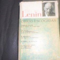 Libros de segunda mano: LENIN, OBRAS ESCOGIDAS, ED. PROGRESO. Lote 297158373