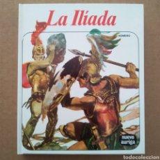 Libros de segunda mano: LA ILÍADA, POR HOMERO (NUEVO AURIGA, 1987). ILUSTRACIONES DE VICENTE SEGRELLES.. Lote 297264983