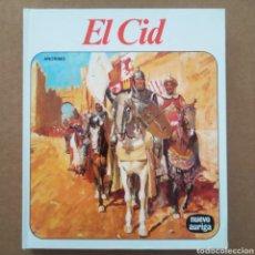 Libros de segunda mano: EL CID (NUEVO AURIGA, 1985). 128 PÁGINAS CON ILUSTRACIONES EN B/N Y CUBIERTAS EN CARTONÉ.. Lote 297265183