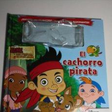 Libros de segunda mano: EL CACHORRO PIRATA - DISNEY JUNIOR - JAKE Y LOS PIRATAS DE NUNCA JAMÁS - EVEREST. Lote 297278493