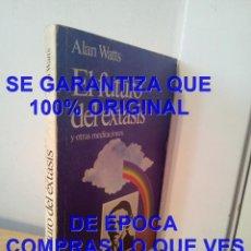 Libros de segunda mano: ALAN WATTS. EL FUTURO DEL EXTASIS Y OTRAS MEDITACIONES. EDITORIAL KAIROS U75. Lote 297348988