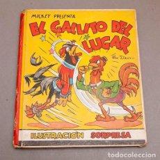 Libros de segunda mano: EL GALLITO DEL LUGAR (POP UP) - WALT DISNEY. Lote 297360643
