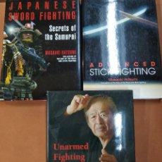 Libros de segunda mano: LOTE 3 LIBROS ARTES MARCIALES - MASAAKI HATSUMI - EP1. Lote 297361118