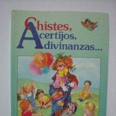 Libros de segunda mano - CHISTES, ACERTIJOS,ADIVINANZAS...... - 24470998