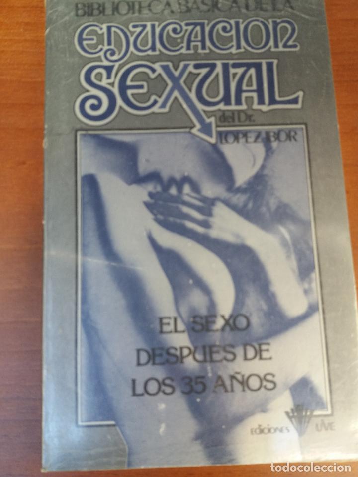 Libros: BIBLIOTECA BÁSICA DE LA EDUCACIÓN SEXUAL - POR EL DR. LÓPEZ IBOR - VER FOTOGRAFÍAS Y TEMAS - Foto 19 - 112163063