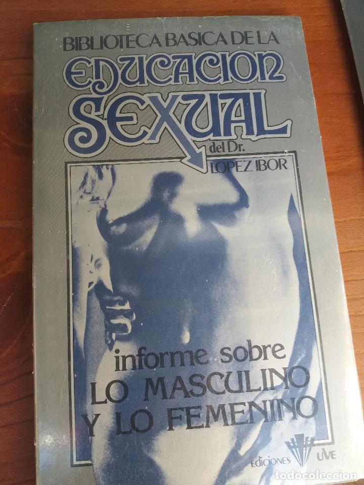 Libros: BIBLIOTECA BÁSICA DE LA EDUCACIÓN SEXUAL - POR EL DR. LÓPEZ IBOR - VER FOTOGRAFÍAS Y TEMAS - Foto 29 - 112163063