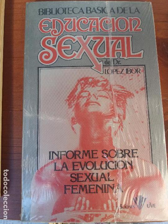 Libros: BIBLIOTECA BÁSICA DE LA EDUCACIÓN SEXUAL - POR EL DR. LÓPEZ IBOR - VER FOTOGRAFÍAS Y TEMAS - Foto 37 - 112163063