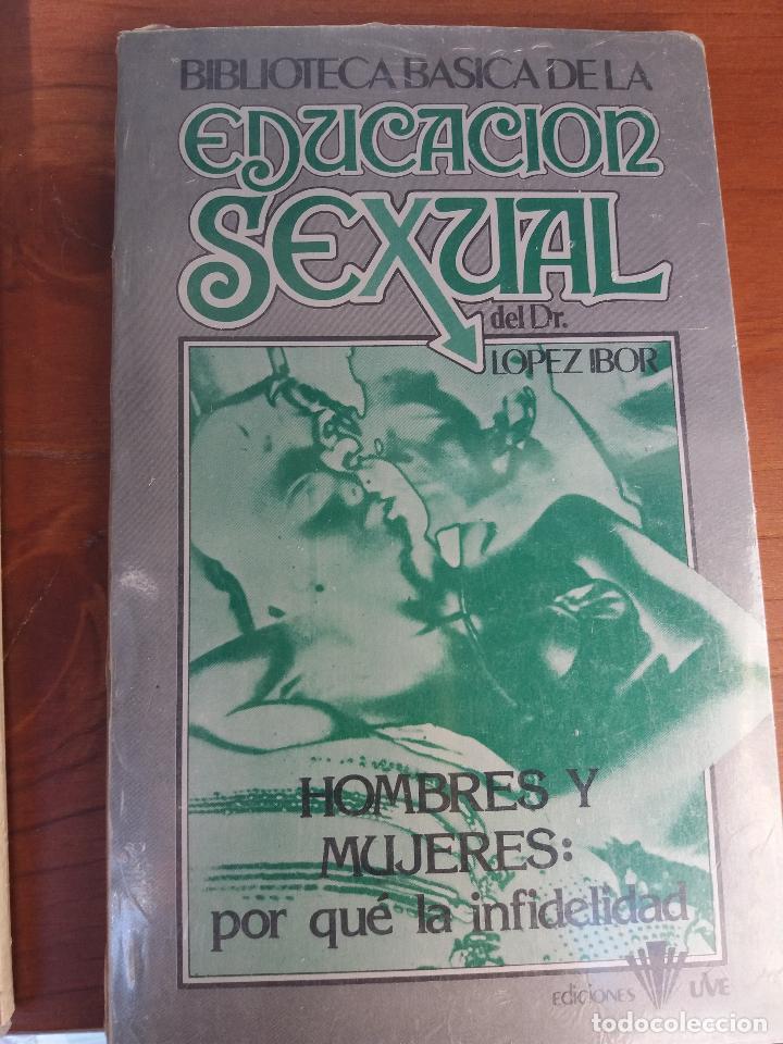 Libros: BIBLIOTECA BÁSICA DE LA EDUCACIÓN SEXUAL - POR EL DR. LÓPEZ IBOR - VER FOTOGRAFÍAS Y TEMAS - Foto 38 - 112163063
